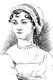 Caption: Artist's drawing of Jane Austen. Drawing by: Barry Carlsen/courtesy of The Center for the Humanities High-resolution 300 DPI JPEG - Austen_Jane_drawing00