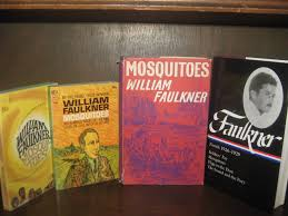 for love of books william faulkner news from the boston becks mosquitoes