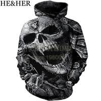 Wholesale Custom <b>3d skull hoodies men</b> s - Buy Cheap Oversize <b>3d</b> ...