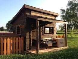 DIY Playhouses Your Kids Will Love to Play In   The Self    Wild West Cubby House Plans
