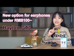 <b>Haylou GT3 TWS</b> Bluetooth Earphones - YouTube