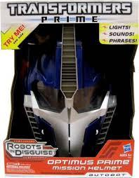 <b>TRANSFORMERS</b> Optimus Prime Mission <b>Helmet</b>