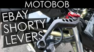 Cheap Chinese eBay <b>CNC</b> Shorty <b>Motorcycle</b> Levers Review ...