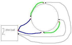 how to wire a quad ohm voice coil sub com easy diagram of two ohm load