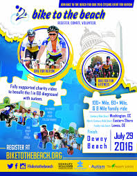 fundraising posters and flyers bike to the beach our 2016 b2bdc poster