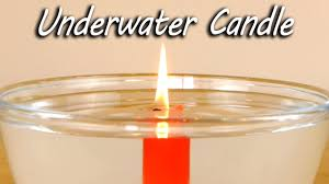 <b>Underwater</b> Candle - Science Experiment - YouTube
