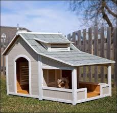 Cozy and Creative Dog Houses for Your Furry Friends   Creative    Precision Outback Savannah Dog House   Porch