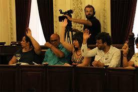 Resultado de imagen de pleno del ayuntamiento de cádiz