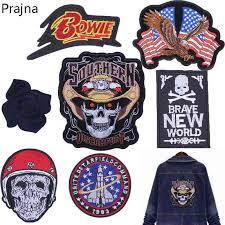 Prajna Parches Biker Yamalar Patch Lot <b>Cool</b> Patch Punk Brand ...