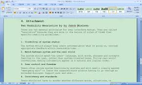 usability analysis for microsoft office word yingying zhang screenshot 1 microsoft office word 2007