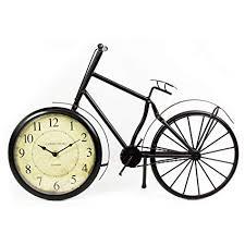 ukgiftstoreonline Old Fashioned <b>Bicycle</b> Clock Ornament: Amazon ...