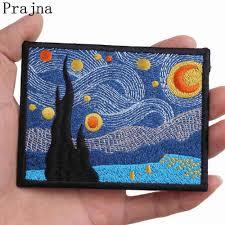 <b>Prajna</b> Hippie <b>Patches Stripes</b> Sniper Space Van Gogh <b>Patch</b> ...