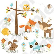 forest animal decoration woodland forest animals deer owl bee baby nursery wall mural stickers baby nursery cool bee animal