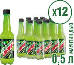 "<b>Газированный напиток Mountain Dew</b> ""Цитрус"", 12 шт по 500 мл ..."