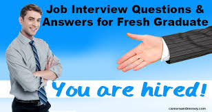 job interview questions and answers for freshersjob interview questions and answers for fresh graduate