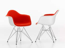 contemporary chair plastic aluminum for professional use dar vitra charles ray eames furniture