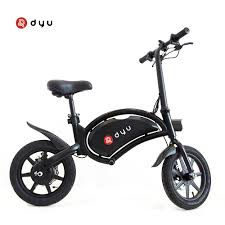 "<b>DYU D3F Electric</b> Bike 36V 10AH Lithium Battery 14"" Tires 250W ..."