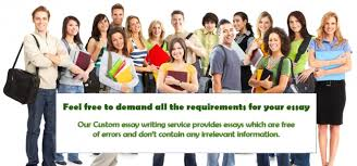 What to expect from our custom writing service