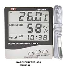 <b>HTC</b> Instrument 288-ATH Digital <b>Indoor Outdoor</b> Hygro ...