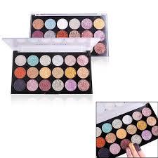 Jual <b>MISS ROSE Glitter</b> Eyeshadow Palettes [<b>18 Colors</b> ] Murah ...