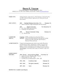 resume  good objectives for resume  corezume co    career objective example a d d c nice job smlf