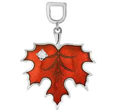 Серебряная подвеска ''Кленовый лист'' <b>Kabarovsky</b> 13-106-7914 с ...