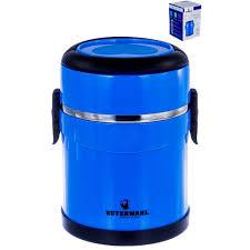 Ланч-бокс GUTERWAHL <b>термо</b>-<b>ланчбокс 2200мл</b>, синий — купить ...
