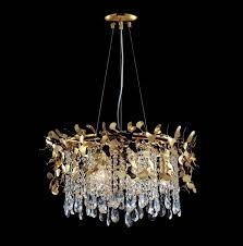 <b>Подвесной светильник Crystal</b> Lux ROMEO SP2 GOLD D250