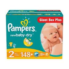 ᐅ <b>Pampers подгузники New</b> Baby-Dry 2 (3-6 кг) 148 шт. отзывы ...