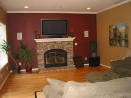 room paint red: i am thinking of painting one of my livingroom walls a deep red i have