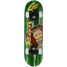 """<b>Скейтборд MaxCity</b> """"<b>Monkey</b>"""", цветной принт, дека 55 см х 16,5 см ..."""