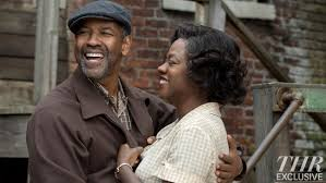 fences review hollywood reporter denzel washington and viola davis in fences