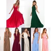 <b>Sexy</b> Women Fashion Maxi Red <b>Beach</b> Long Multiway Bridesmaids ...