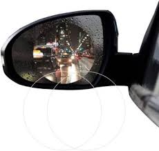 Tantra Anti-Fog Car <b>Rearview Mirror Film</b> Car Mirror Rain Blocker ...