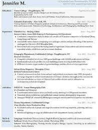 resume samples   types of resume formats  examples and templatesentry level resume sample