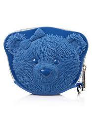 <b>Adamo 3D Bag Original</b> Ribbon Bear Coin Purse - Blue | eBay