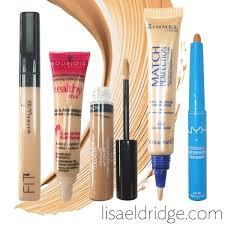 lisa eldridge make up flawlessfriday five concealers that really work