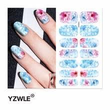YZWLE, 1 лист, переводные <b>наклейки для ногтей</b>, наклейки для ...