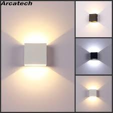 <b>Indoor 6W LED Wall</b> Lamps AC85 265V Aluminum Decorate Wall ...