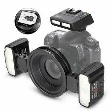<b>Meike MK-MT24S Macro Twin</b> Lite Flash for Canon EOS 6D 7D 60D ...