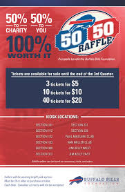 50 50 raffle buffalo bills for a list of winners click here
