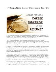 simple job resume examples resume badak good resume career objective