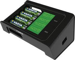 LCD <b>Smart Charger</b> - VARTA Consumer <b>Batteries</b>