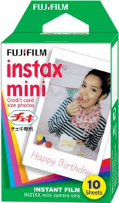 <b>FujiFilm Colorfilm</b> Instax mini <b>Glossy</b> (10x1) | Accessories for photo ...