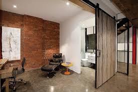 track sliding door for the home office design karchitects architects sliding door office