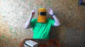 <b>Кожаная маска</b> сварщика. - YouTube