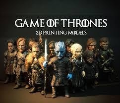 gameofthrone GAME OF THRONES 3D <b>PRINTING</b> MODEL SET