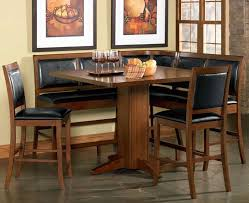 counter height corner breakfast nook chicago dining room place dining nook chairs furniture cadence breakfast nook furniture