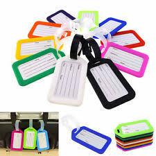 Plastic <b>Luggage Tags</b> for sale | eBay