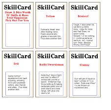 the rules no action deck cards the woolshed wargamer and the backing sheet for the skills deck